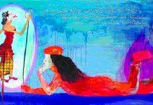 Nasirun - 'Ngilo'_Mengenang Ibu (Oil on Canvas_2009)